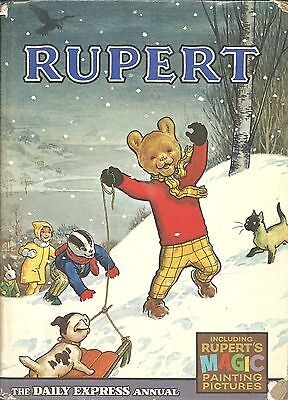 Vintage 1967 Rupert Annual Christmas Addition