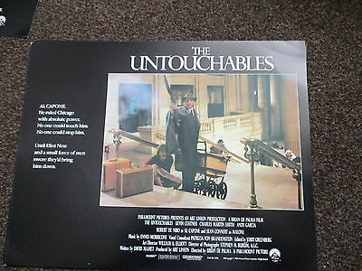 THE UNTOUCHABLES Original 2007 Film Lobby Card Paramount Kevin Costner 14 x 11