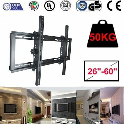Tilt LCD LED TV Wall Mount Bracket 10 14 17 19 22 26 32 36 37 40 42 50 inch