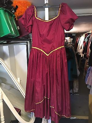 Old Theatrical Period Stage Dress - Theatre Used