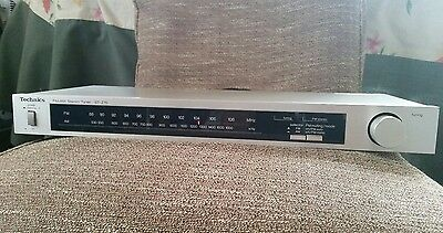 Technics Stereo Tuner Fm/am St-Z15 Vintage Made In Japan