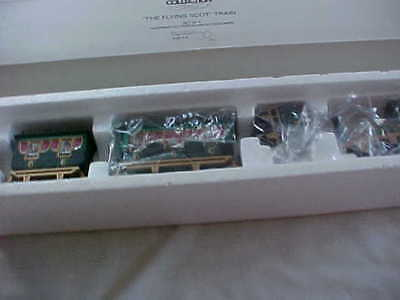 """Heritage Village """"the Flying Scot"""" Train  Unused Mint In Box Dept.  56"""
