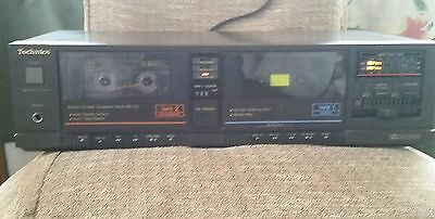 Technics Tape Cassette Stereo Deck Rs-T10 Vintage Made In Japan