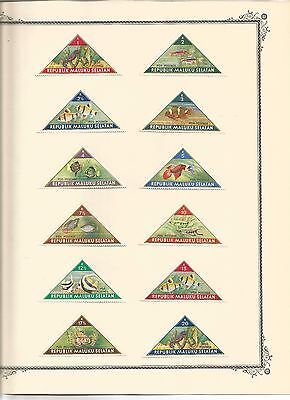 Stamps  Indonesia - Maluku Selatan - Independence issues blocks  etc. see scans