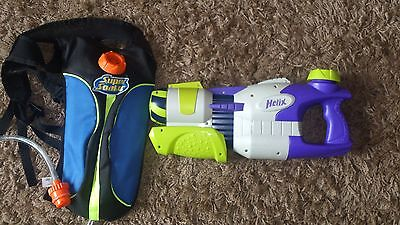 Nerf Supersoaker MAX Infusion Helix & MAX Infusion backpack