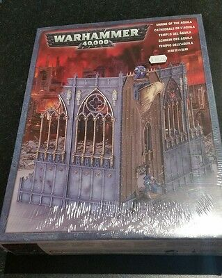 SHRINE OF THE AQUILA. Citadel 64-39 Warhammer 40,000 New Sealed