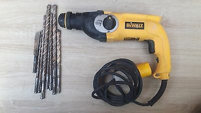 Dewalt Hammer Drill D25123 with a selection of bits 110V