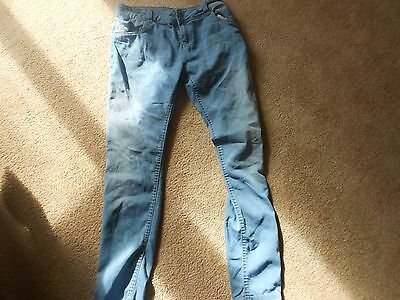 Denim Co blue girls jeans age 12-13 years