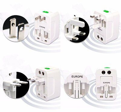 Universal International Travel Plug Adapter WorldWide Converter For US UK EU AU