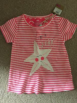 JOULES Baby Girl T-Shirt 6-9months BNWT