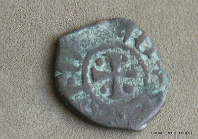 HIGH MIDDLE AGES CILICIAN ARMENIA HAMMERED 13th CENTURY  WORLD COIN  #RKE8