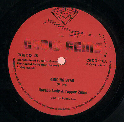 "Horace Andy &  Tapper Zukie & Sticks  ‎– Guidng Star - 12"" Vinyl Record Reggae"