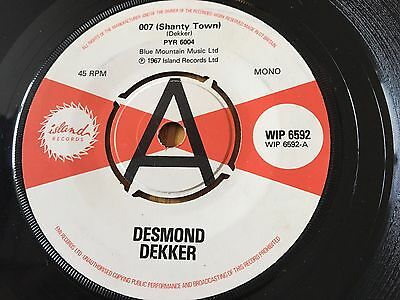 Desmond Dekker - 007 / Hopeton Lewis - Cool Collie / Derrick Morgan -Judge Dread