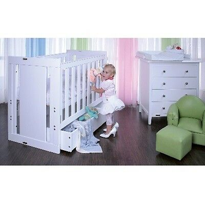 GROTIME 2 in 1 COT DRAWER / BOOKCASE - D101 - WHITE BABY- NEW in BOX - COTS