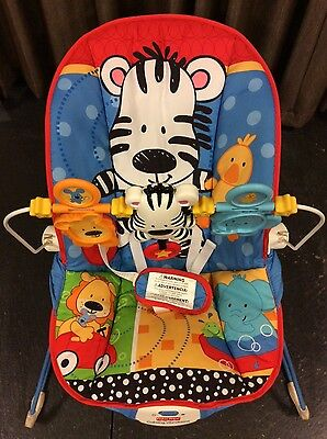 Fisher Price Calming Vibrations Baby Bouncer