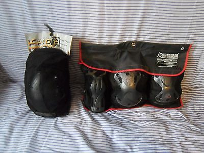XCESS combo protection pack size adult m + KHEO Knee elbow Pads size adult L