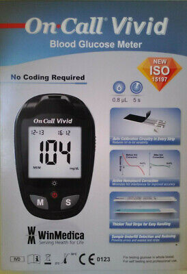 On Call Vivid Blood Glucose Meter By Acon