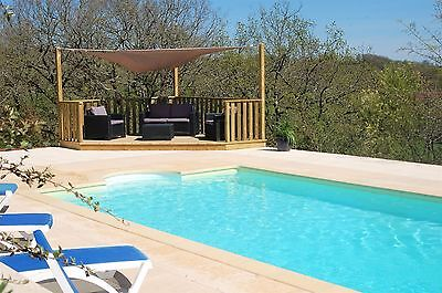 Luxury self catering holiday home,  gite with private pool, 4 people, SW France