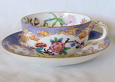 Belle Tasse Et Sous Tasse A The English Porcelaine  Minton 1551  En Parfait Etat