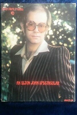 Record World Presents An Elton John Spectacular  January 31st 1976 Super Rare