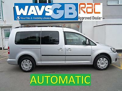 Volkswagen Caddy Maxi 1.6TD Auto Mobility Wheelchair Access Vehicle Disabled WAV