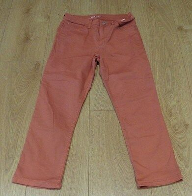 Womens cropped  trousers  M&S  size 8