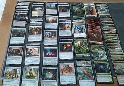 Mtg Origins joblot 70+ cards. Artifacts,tokens,lands,multi-colour. As  pictured