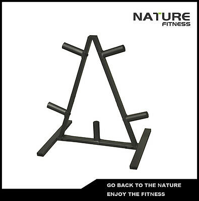 Triangle Weight Plates Tree Storage Rack
