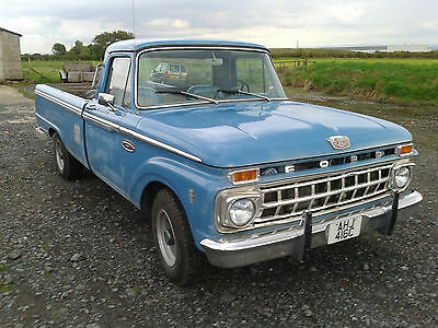 Ford F250 pick up 1965