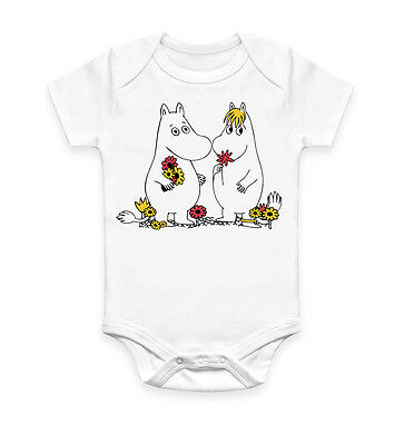 Funny Moomin Cool Baby Grow Body suit Baby Suit Ideal Gift Unisex 2568