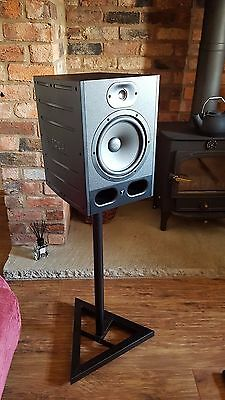 Focal Alpha 80 Active Studio Monitors (Pair) With Stands And 3m XLR Cables