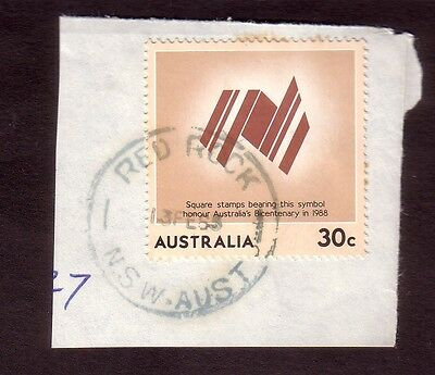 1985 New South Wales postmark - RED ROCK