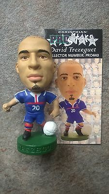David Trezeguet France PRO440 Loose Corinthian Prostars Figure & Card Convention
