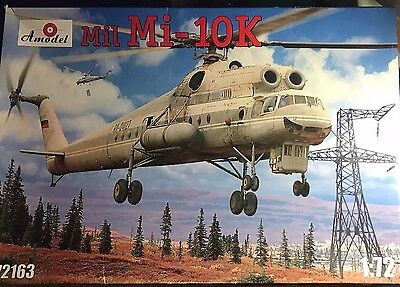 1/72 Modern Helicopter : Mil Mi-10K [Russia] : AMODEL