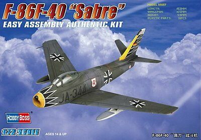 1/72 Cold War Fighter : NAA F-86F-40 Sabre [West Germany]   : Hobbyboss