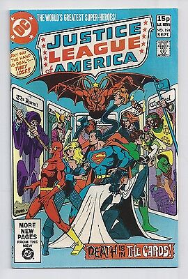 Justice League Of America #194 : Fine 6.0 : UK Pence Variant