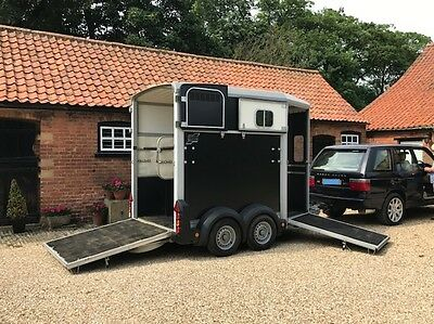 Ifor Williams 506 Horse Trailer 2012 Black, Absolutely Immaculate, Barn Stored