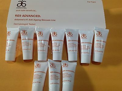 Arbonne RE9 SMOOTHING FACIAL CLEANSER Samples 10 x 3ml = 30mls New