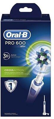 Braun Oral-B Pro 600 Cross Action Elektro Zahnbürste