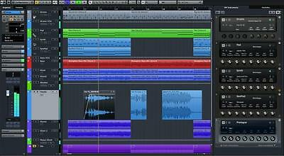 Steinberg Cubase LE 9 + Waves Audio Track Plugin - New