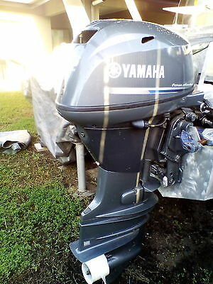YAMAHA outboard 25 HP New never used