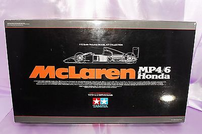 TAMIYA 1/12 McLAREN MP4/6 HONDA F1 #89721 NEW