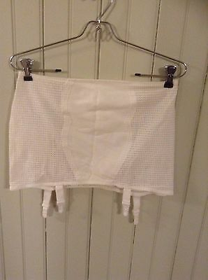 nwot Vintage Miss Mary open bottom girdle size 2X w/ garters