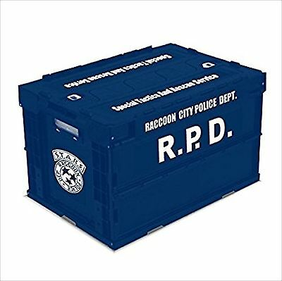 Biohazard Resident Evil S.T.A.R.S. Folding Container Box Case EMS F/S JAPAN