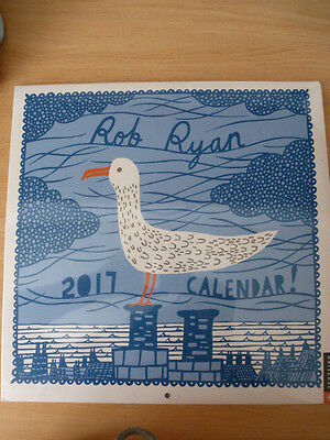 Rob Ryan 2017 calendar sealed