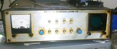 Demodulatore RTTY AMTOR a filtri attivi made in USA