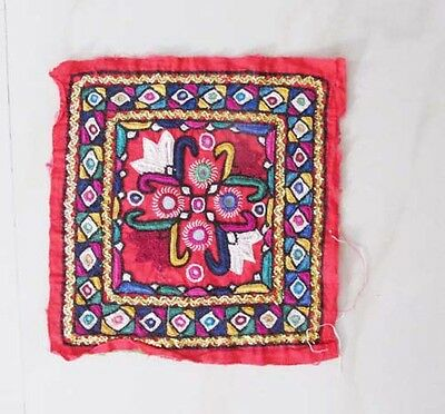 Vintage Indian Tapestry Banjara Embroidered Art Wall Hanging Decoration 2016