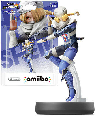 Sheik Amiibo - Zelda (Nintendo) NEW & SEALED
