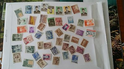 Indonesia - used stamps lot 1