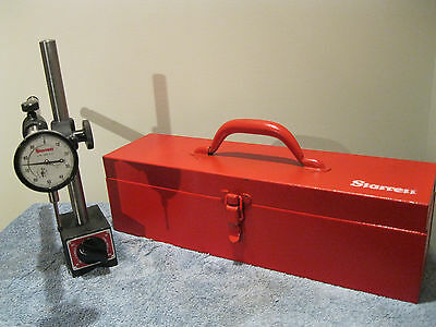 Starrett 659 Heavy Duty Magnetic Base With No. 25-441 Dial Indicator